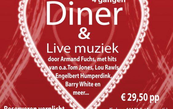 Moederdag Diner met live muziek