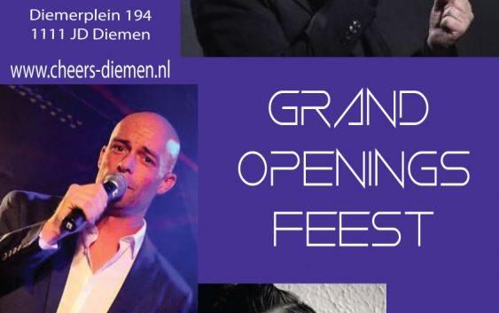 Grand Openingsfeest Zaterdag 7 mei 2016