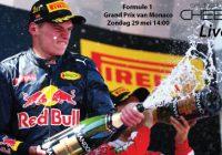 Live Formule 1 Grand Prix van Monaco Zondag 29 mei 14:00