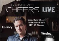 Robert Leroy, Quincy en Wesley live 1 oktober!