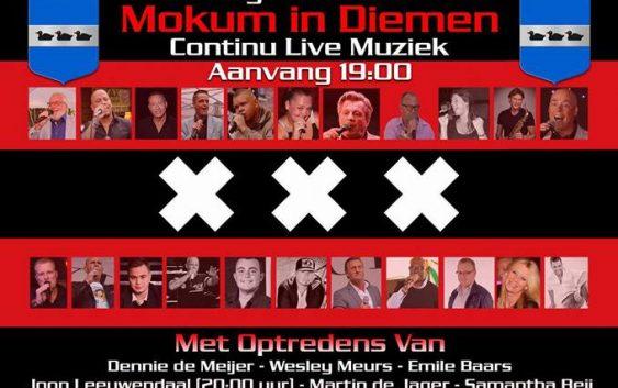 Mokum in Diemen Zaterdag 8 oktober