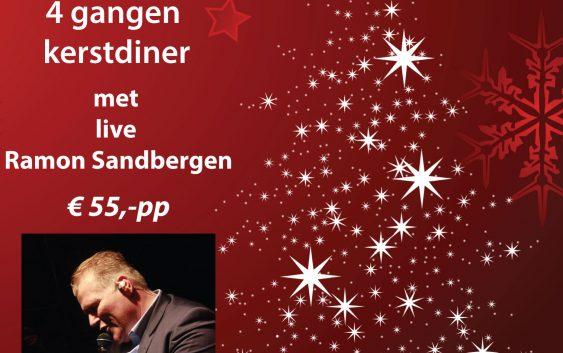 Kerstdiner met Live Ramon Sandbergen 2e kerstdag