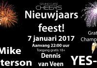 Nieuwjaarsfeest Grand Café Cheers 7 januari 2017