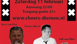 11 februari Amsterdamse avond!