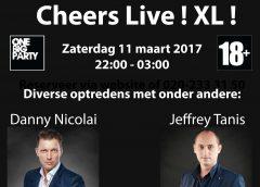 Cheers Live XL Zaterdag 11 maart!
