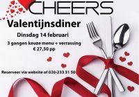 Valentijnsdiner 14 februari !
