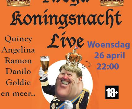 Mega Koningsnacht Live