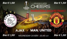 Finale Ajax – Man utd Bier € 1,50!