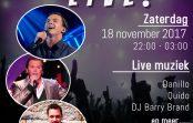 Zaterdag 18 november Cheers Diemen Live!!!