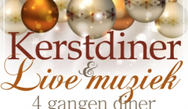 Kerstdiner met live muziek!