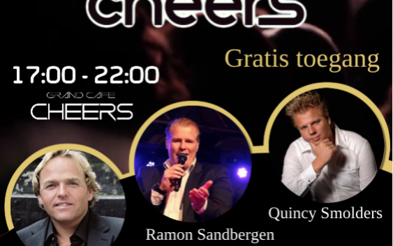 Sunday at Cheers! Zondag 28 januari 17:00