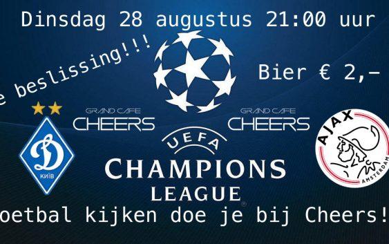 Dynamo Kiev – Ajax De beslissing! Live