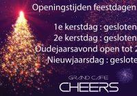 Openingstijden kerst en oud en nieuw