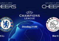 Chelsea – Ajax dinsdag 21:00