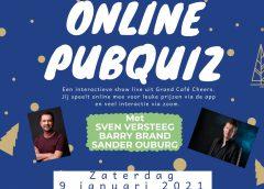 Online pubquiz zaterdag 9 januari 20:00
